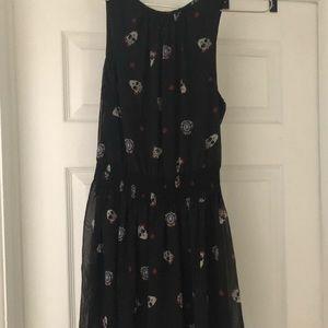 Zara skull dress